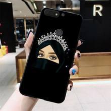 Yinuoda мультфильм хиджаб Эстетическая мусульманская девушка ilham malah чехол для телефона huawei Honor 8A 8X9 10 20 Lite 7A 5A 7C 10i 20i(Китай)