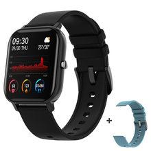 Смарт-часы Hembeer P8, 1,4 дюйма, мужские, полностью сенсорные, фитнес-трекер, кровяное давление, Смарт-часы для женщин, GTS, Смарт-часы для Xiaomi iphone(China)
