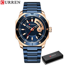 Модные мужские часы Топ бренд класса люкс водонепроницаемые японские кварцевые часы мужские деловые Часы montre homme reloj hombre # мужские часы(China)
