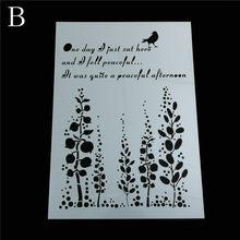 Многослойные трафареты для рисунки на стену скрапбукинга штемпель для тиснения украшение для альбома тисненая картонная открытка Ретро Па...(Китай)
