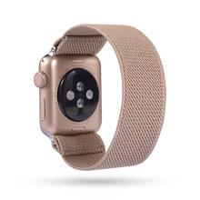 Эластичные часы с леопардовым узором для Iwatch Series 5 4 3 2 1 сменный ремешок для Apple Watch 38 мм/40 мм 42 мм 44 мм(Китай)