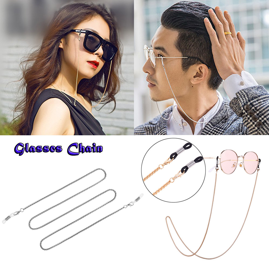 Gold cirkels glasses lanyard Planet Glasses Chain Retro Metal Hanging Chains  Men/Women Non slip Decor Cordino per occhiali|Eyewear Accessories| -  AliExpress