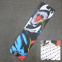 33 дюймов скейт доска наждачная бумага Скейтбординг Griptape скутер кожа сцепление лента Палуба Лонгборд сцепление Электрический скейтборд наж...(Китай)