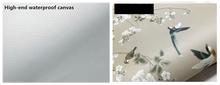 Пользовательские 3D обои росписи ручная роспись черепаховый тропический завод фон настенная бумага росписи(Китай)