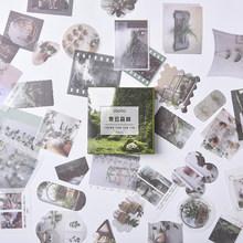 80 шт./компл. ретро-наклейки для ноутбука стенка холодильника девушки путешествия Srapbooking журнал ремесло дневник Ablum декоративные наклейки(Китай)