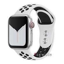 Ремешок для часов apple watch, 44 мм, 40 мм, iwatch band, 42 мм, 38 мм, ремешок для часов, браслет correa, apple watch series 5, 4, 3, 2, 1, 38, 42, 44(Китай)