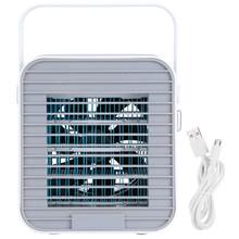 Мини воздушный охладитель Портативный USB кондиционер Настольный охлаждающий вентилятор для домашнего офиса(Китай)