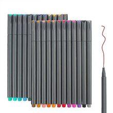 Цветные маркеры с тонкими наконечниками, маркеры с тонкими наконечниками для дневных ручек, набор маркеров для рисования набросков, для рас...(Китай)