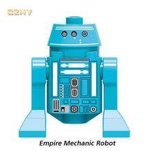Новинка, Звездные войны, Pon Dameron, механический робот, клонированный десантник, Legoingly, минифигурные блоки, модель, наборы, игрушки для детей, по...(Китай)