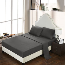 Сплошной цвет покрывало для кровати четыре комплекта разноцветных дополнительных простыней две наволочки матрас защитный коврик тип кров...(Китай)