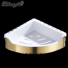 304 треугольная полка из нержавеющей стали для ванной комнаты, угловая полка для хранения шампуня, мыла, косметическая подставка для ванной ...(Китай)