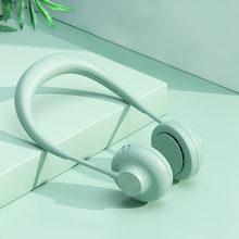 Новый портативный USB вентилятор saengQ, вентилятор для шеи с перезаряжаемой батареей, мини-вентиляторы, ручной кондиционер для комнаты(Китай)