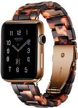 Подходит для браслетов Apple Watch, полимерных браслетов для Apple Watch, 38 мм, 42 мм, 40 мм, 44 мм, серия 5, 4, 3, 2, 1, женский и мужской браслет(Китай)