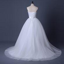 Платье на бретельках LORIE, Пляжное, свадебное, белое, с поясом, из тюля, свадебное бохо-платье А-силуэта, 2020(China)