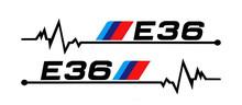 Aliauto 2 X Автомобильная наклейка на зеркало заднего вида и аксессуары для BMW E30 E34 E36 E39 E46 E60 E61 E87 E90 E83 F10 F20 F21 F30 F35(Китай)