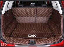 Автомобильные коврики для багажника ETOATUO на заказ для Audi all model A1 A3 A8 A7 S8 R8 TT SQ5 A6 Q3 Q7 A4 A5 S5 Q5 S6 S7 S3 SR4-7 автомобильные аксессуары(Китай)