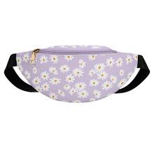 Женские нагрудные Сумки из искусственной кожи, кошелек Fanny, поясная сумка, классический креативный дизайн, шикарная сумка-мессенджер Daisy(Китай)