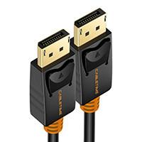 Кабель DisplayPort CABLETIME 2020 1 м штекер DP 1,2 кабель DP видео аудио 4k 60hz порт дисплея кабель 2 м для HDTV проектора ПК C071(Китай)