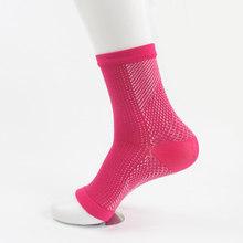 1 пара, комфорт ног против усталости, компрессионный рукав, снимает отек, варикозность, для мужчин и женщин, защита лодыжки, носки, Велоспорт, ...(Китай)