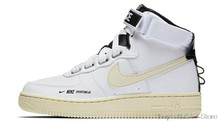 Origina Nike Air Force 1 AF1 Mid GS белая женская обувь для скейтбординга спортивные износостойкие уличные кроссовки()