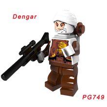 Звездные войны, йода Звездные войны Legoelys Dengar Leia солдат-клон красный Снеговик Боевой Дроид Coleman treбор Leia строительные блоки игрушки(Китай)