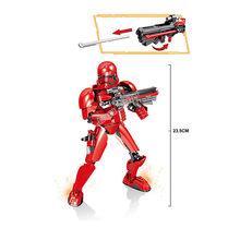 Новые Звездные войны Серия IX строительные блоки кирпичи фигурки Звездные войны игрушки голова кирпича с Legoinglys игрушка для детей(Китай)