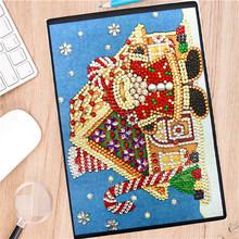 huacan 5д алмазная мозаика Снеговик блокнот алмазная вышивка распродажа живопись картины стразами рождество(Китай)