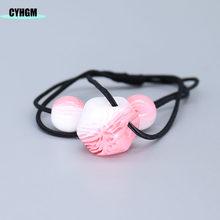 CYHGM эластичные ленты для волос для девочек, бархатные атласные резинки для волос, аксессуары для волос, topkipot pokemon, плюшевые женские F02-3 в Коре...(Китай)