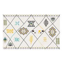 Богемный стиль, фланелевый ковер с принтом, ковер для комнаты, коврик для ног, коврик для гостиной, спальни, дома, декоративный коврик(Китай)