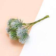 6 шт шелковые цветы для скрапбукинга искусственные цветы растения для дома Свадебные украшения Искусственные пластиковые цветы декоративн...(Китай)
