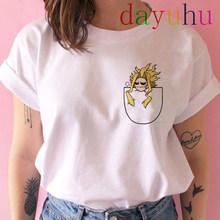 My Hero academic Футболка Мужская модная футболка Boku No Hero academic аниме Kawaii химико Тога футболки с графическим принтом мужские 90s(Китай)