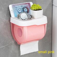 Новый держатель для туалетной бумаги, полотенец, настенный пластиковый держатель для туалетной бумаги с полкой для хранения, бумажная коро...(Китай)