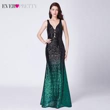 Сексуальное вечернее платье Русалочки, длинное платье с блестками и треугольным вырезом, вечернее платье без рукавов с блестками, 2020(Китай)