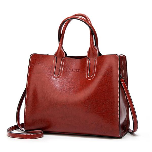 Кожаные сумки, большая женская сумка, высокое качество, повседневные женские сумки, сумка-тоут, испанский бренд, сумки на плечо для женщин, ...(Китай)