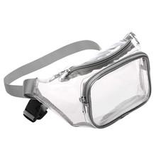 Прозрачная поясная сумка Aelicy для женщин и мужчин, водонепроницаемая поясная сумка, милый кошелек в стиле Харадзюку, прозрачная сумка, Регул...(Китай)