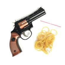 Нержавеющая сталь 1 шт./компл., резиновый пусковой пистолет, ручной пистолет, игрушки для стрельбы, подарки для мальчиков, Спорт на открытом в...(Китай)