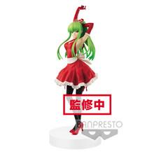 Оригинальный Banpresto EXQ рисунок код Geass Lelouch of the Rebellion C. C. Санта платье ПВХ Фигурки игрушки на Рождество(Китай)