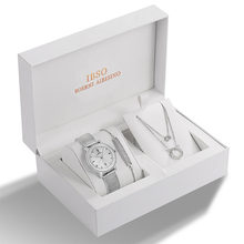 Женские кварцевые часы IBSO, розовое золото, ультра тонкий ремешок из нержавеющей стали с сеткой, кварцевые часы, женские простые часы Relogio ...(Китай)