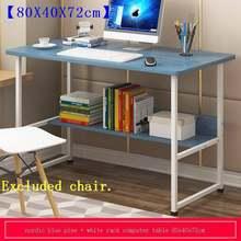 De Oficina ноутбук Portatil Escritorio Mueble Tavolo Scrivania офисный ноутбук Tafelkleed прикроватный стол для учебы компьютерный стол(Китай)