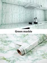 Vinil filme auto adesivo papel de parede de mаrmore à prova dwaterproof argua para banheiro cozinha armаrio contato papel pvc ad(Китай)
