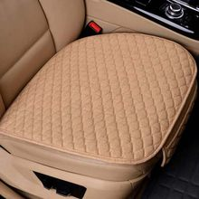 Всесезонные автомобильные чехлы, чехлы для авто из льняной ткани на передние и задние сиденья, дышащие защитные коврики для авто, автомобил...(Китай)
