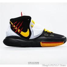 Оригинальные кроссовки для баскетбола Nike Kyrie 6 Bruce Lee, Размер 40-45()