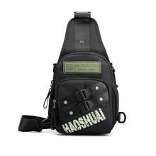Многофункциональная нагрудная сумка, мужская сумка через плечо, камуфляжная армейская зеленая поясная сумка, мини-рюкзак для мужчин и женщ...(Китай)