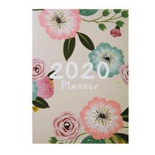 Ежедневный Еженедельный планер А4 для ноутбука «сделай сам», s Plan 2020, органайзер, офисный расписание, школьные принадлежности, канцелярская ...(Китай)