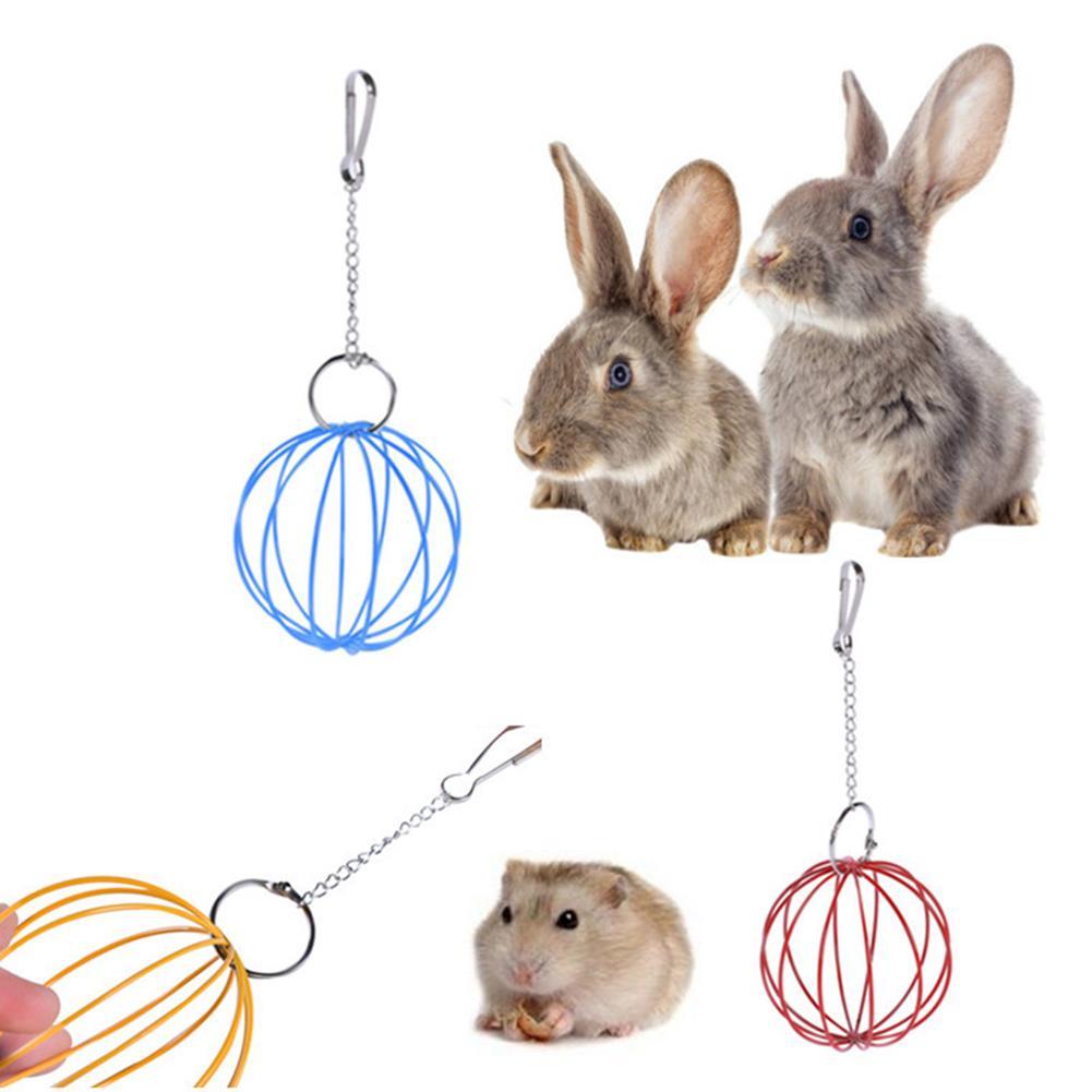 bolsa de alimentaci/ón para conejo Bolsa de alimentaci/ón para conejo dispensador de inauguraci/ón chinchilla y h/ámster soporte de bolsillo de hueso colgado HAOGEGE
