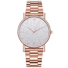 Новые роскошные женские часы, кварцевые часы из нержавеющей стали с циферблатом, повседневные часы с браслетом, наручные часы, модные женск...(Китай)