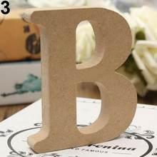 DIY отдельно стоящая A-Z деревянные буквы Алфавит Висячие свадебные вечерние украшения для дома для лоскутного скрапбукинга рукоделие(Китай)