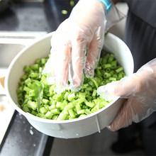 100 шт одноразовые пластиковые PE перчатки для чистящие средства для кухни(China)