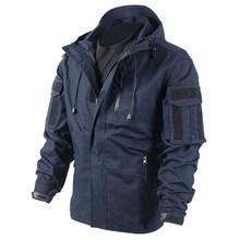 BACRAFT Уличное оборудование армейская униформа Тактическое пальто для мужчин-дымчатый Зеленый L/XL/XXL(Китай)