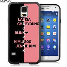 MaiYaCa BTS KPOP K-POP девочек группа чехол для телефона из мягкого ТПУ с рисунком Чехлы для samsung S5 S6 S7 край S8 S9 S10 Plus Note 9 8 задняя крышка(Китай)